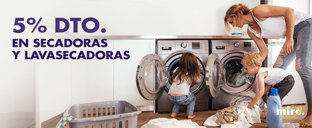 secadoras y lavasecadoras