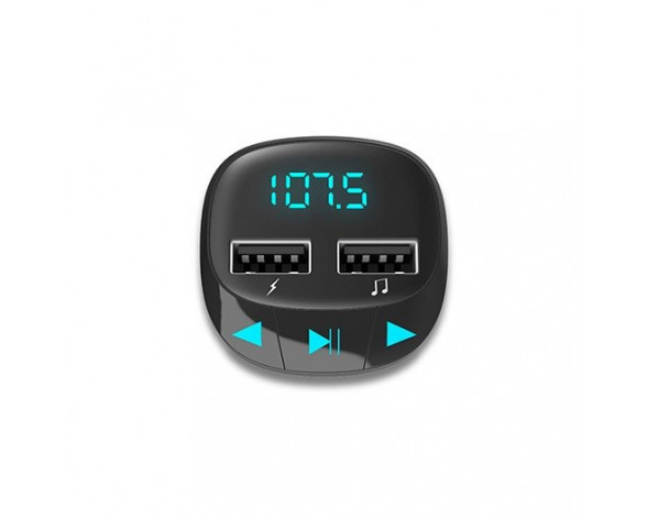 Energy Sistem 44824 transmisor FM 87,5 - 108 MHz Encendedor de cigarrillos Negro