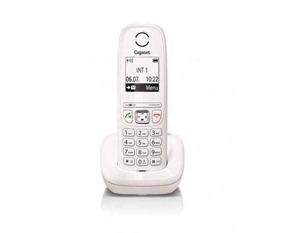 Gigaset AS405 Teléfono DECT Identificador de llamadas Blanco