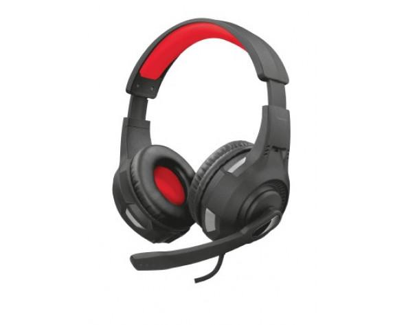 Trust GXT 307 RAVU Auriculares Diadema Conector de 3,5 mm Negro, Rojo