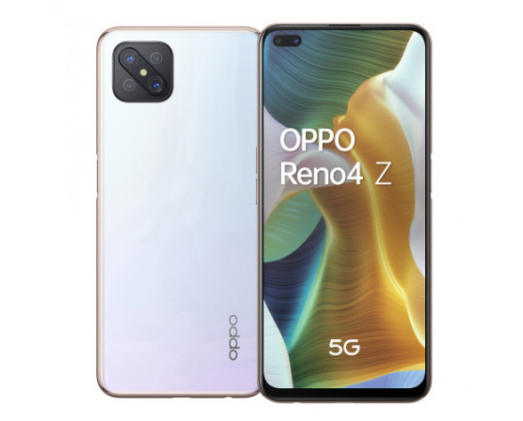 "OPPO Reno 4Z 5G 16,7 cm (6.57"") SIM doble ColorOS 7.1 USB Tipo C 8 GB 128 GB 4000 mAh Blanco"