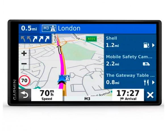 "Garmin DriveSmart 65 EU MT-S navegador 17,6 cm (6.95"") Pantalla táctil TFT Fijo Negro 240 g"