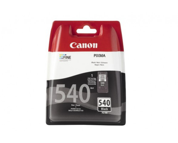 Canon PG-540 w/sec cartucho de tinta 1 pieza(s) Original Rendimiento estándar Negro