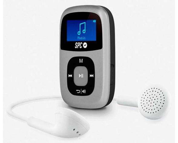 SPC Sparrow Reproductor de MP3 Gris 4 GB