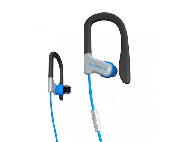 Energy Sistem 429332 auricular y casco Auriculares gancho de oreja, Dentro de oído Conector de 3,5 mm Azul