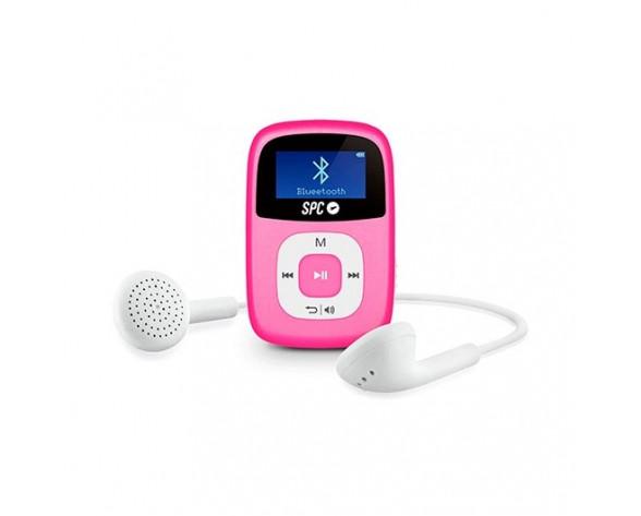 SPC Firefly Reproductor de MP3 Rosa 8 GB