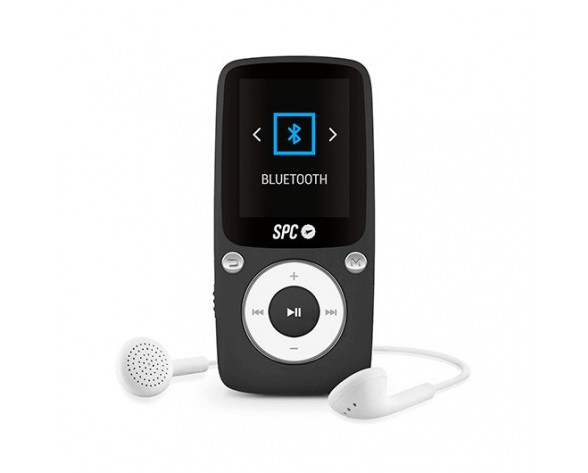 SPC Pure Sound Bluetooth Reproductor MP3/MP4 Negro 8578N