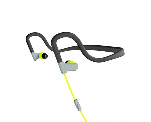 Energy Sistem 429363 auricular y casco Auriculares gancho de oreja, Dentro de oído Conector de 3,5 mm Amarillo
