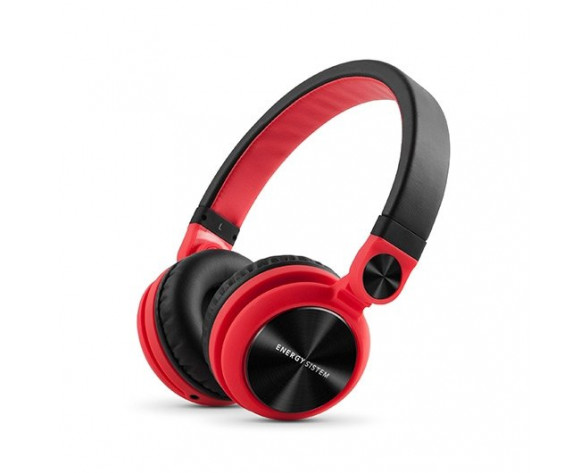 Energy Sistem DJ2 Auriculares Diadema Conector de 3,5 mm Negro, Rojo