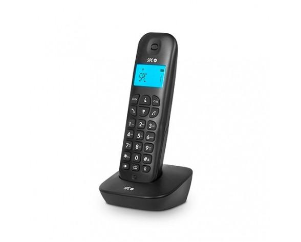 SPC ART Teléfono DECT Negro Identificador de llamadas