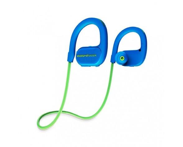 Energy Sistem BT Running 2 Neon Auriculares gancho de oreja, Banda para cuello MicroUSB Bluetooth Azul, Verde