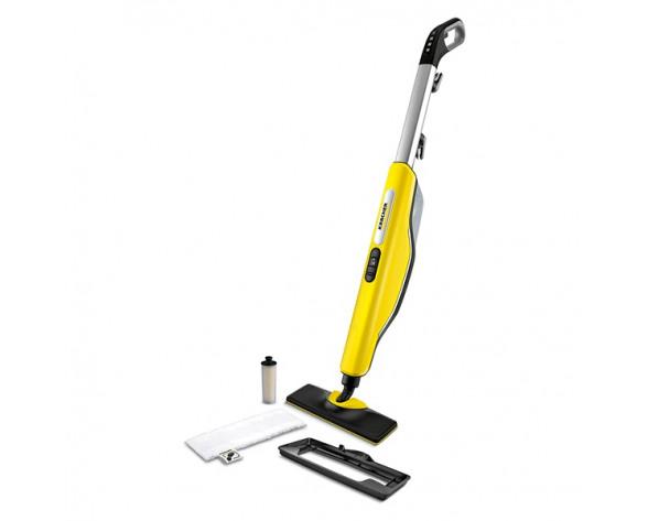 Kärcher SC 3 Upright EasyFix Escoba limpiadora a vapor 0,5 L 1600 W Negro, Gris, Amarillo