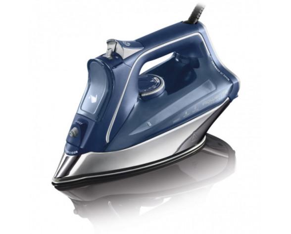 Rowenta DW8215 Plancha vapor-seco Suela Microsteam 400 HD Láser 2800 W Azul