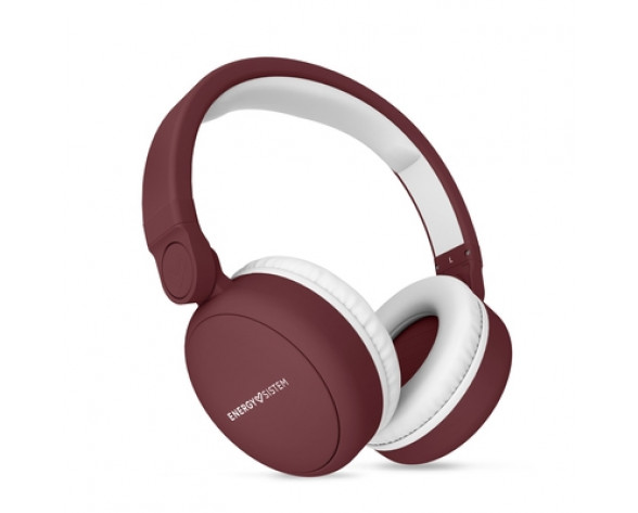 Energy Sistem 445790 auricular y casco Auriculares Diadema Conector de 3,5 mm MicroUSB Bluetooth Rojo, Blanco