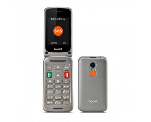TEL LIB Gigaset GL590 Dual SIM Negro