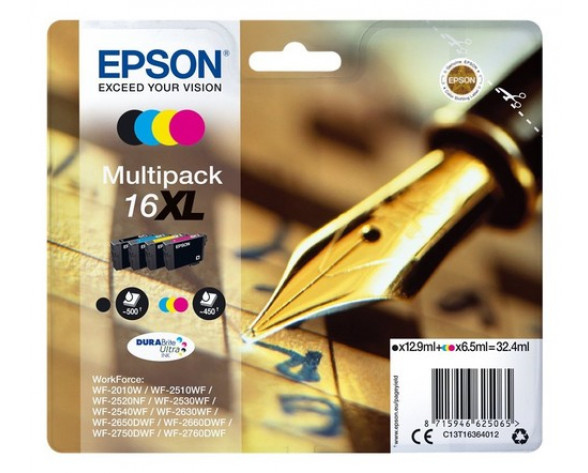 Epson Pen and crossword Multipack 16XL