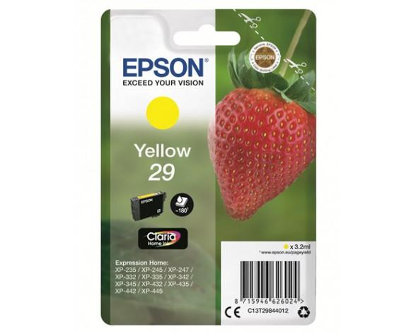 Epson 29 Y 3.2ml 180páginas Amarillo cartucho de tinta
