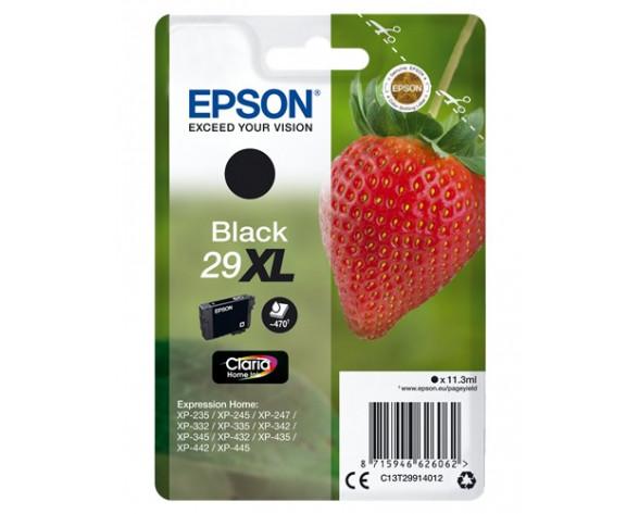 Epson Strawberry 29XL K cartucho de tinta 1 pieza(s) Original Alto rendimiento (XL) Negro