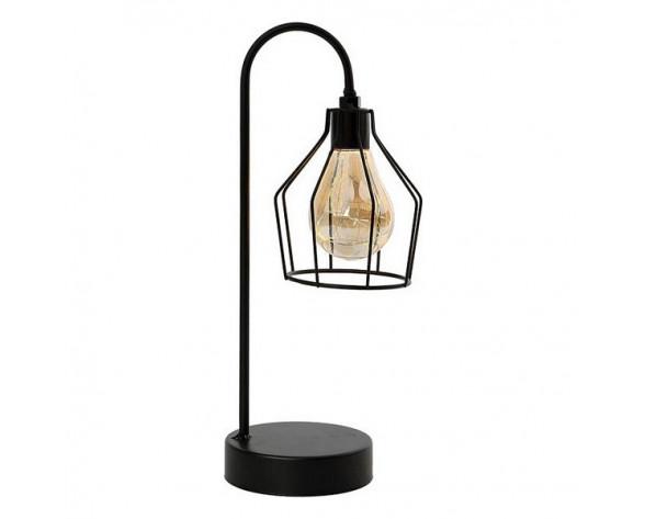 Lampara LED de Mesa Negro 112031