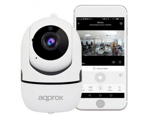 Approx APPIP360HDPRO cámara de vigilancia Cámara de seguridad IP Interior Bombilla Techo/Pared/Escritorio 1920 x 1080 Pixeles