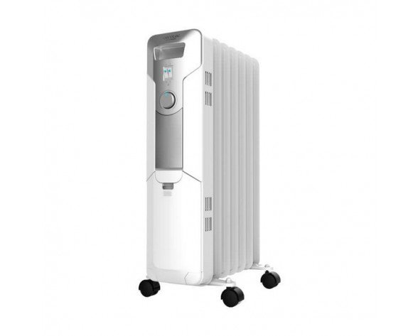 Cecotec 05335 calefactor eléctrico Radiador de aceite eléctrico Interior Blanco 1500 W