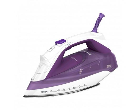 Beko SPA7131P plancha Plancha vapor-seco SteamXtra Pro soleplate 3100 W Púrpura