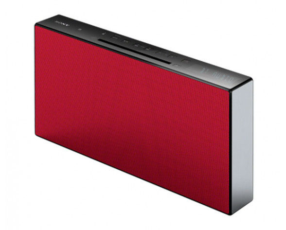 Sony CMT-X3CD Home audio mini system 20W Rojo