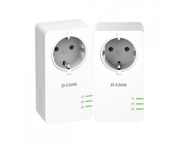 D-Link DHP-601AV 1000 Mbit/s Ethernet Blanco 2 pieza(s)