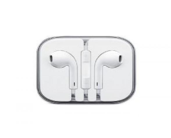 Apple EarPods auriculares para móvil Binaural Dentro de oído Blanco Alámbrico