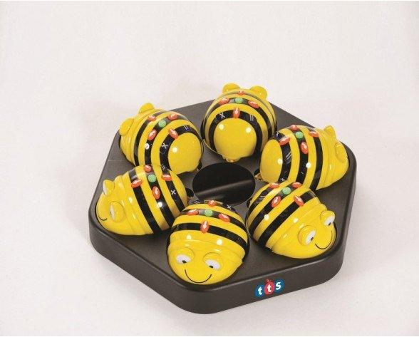 Estación de carga + 6 Bee-Bot®