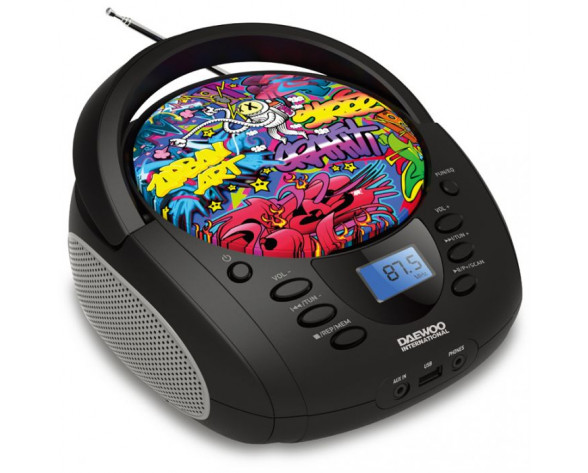 RADIO CD DAEWOO DBU-11 GRAFFITI