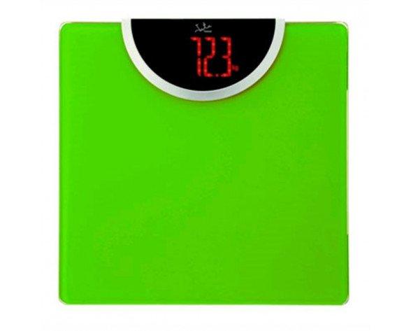 Báscula de baño JATA HOGAR 493 verde CRISTAL
