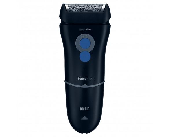 Braun 81282037 afeitadora Máquina de afeitar de láminas Recortadora Negro, Azul