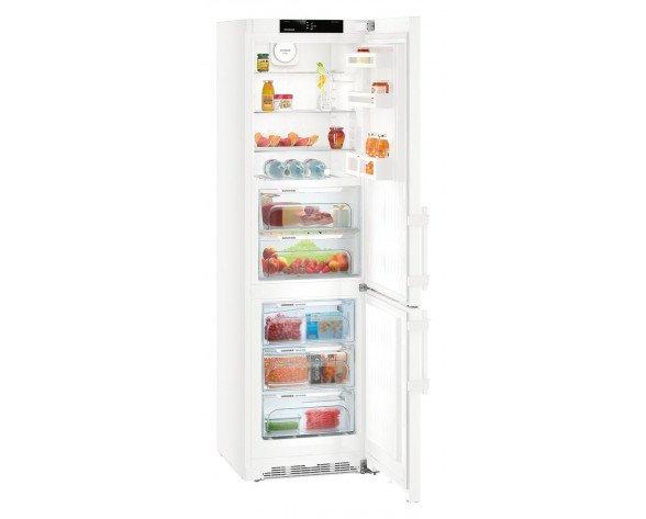Liebherr CBN 4815 Comfort BioFresh NoFrost nevera y congelador Freestanding (placement) Blanco 343 L A+++