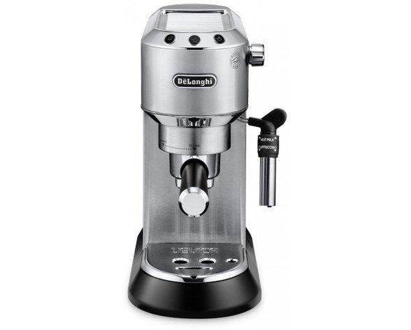 DeLonghi EC 685 Independiente Totalmente automática Máquina espresso 1L Metálico