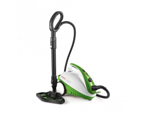 Polti Smart 35 Mop Limpiador a vapor de cilindro 1,6 L Negro, Verde, Blanco 1800 W