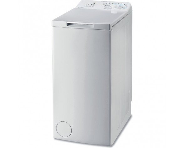 Indesit BTW L60300 SP/N lavadora Independiente Carga superior Blanco 6 kg 1000 RPM A+++