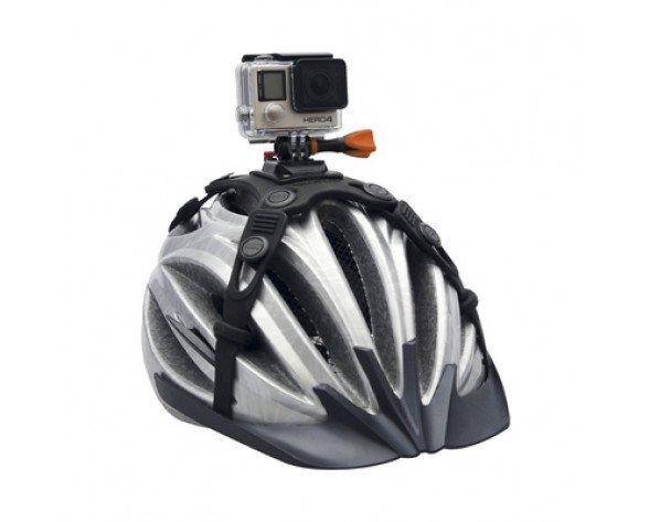 Rollei Helmhalterung Fahrrad Pro Soporte para cámara