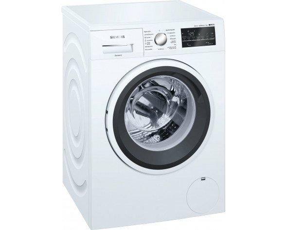 Siemens iQ500 WM14T469ES lavadora Independiente Carga frontal Blanco 8 kg 1400 RPM A+++