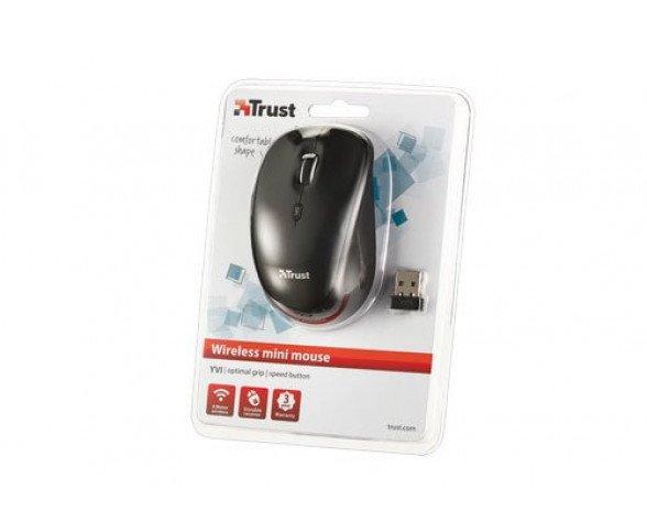Ratón Trust YVI Wireless Negro