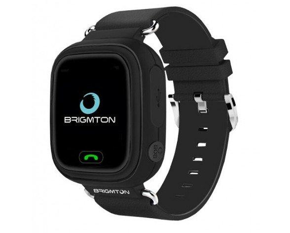 "Brigmton BWATCH-KIDS-N reloj inteligente Negro LCD 3,1 cm (1.22"") Móvil GPS (satélite)"