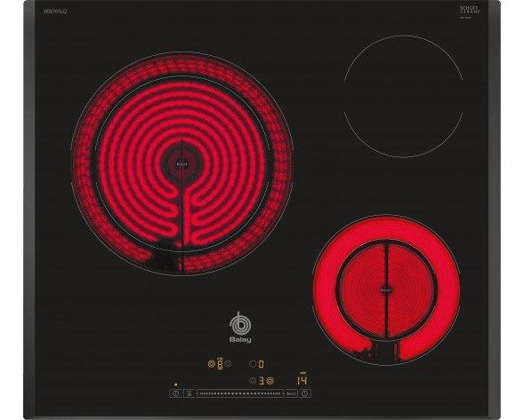 Balay 3EB765LQ hobs Negro Integrado Cerámico 3 zona(s)