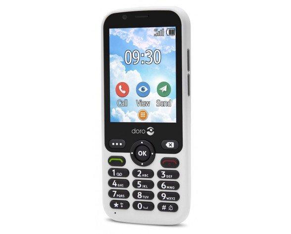 "Doro 7010 7,11 cm (2.8"") 112 g Blanco Característica del teléfono"