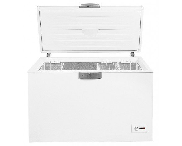 Beko HSA47520 Independiente Baúl 451L A+ Color blanco congelador