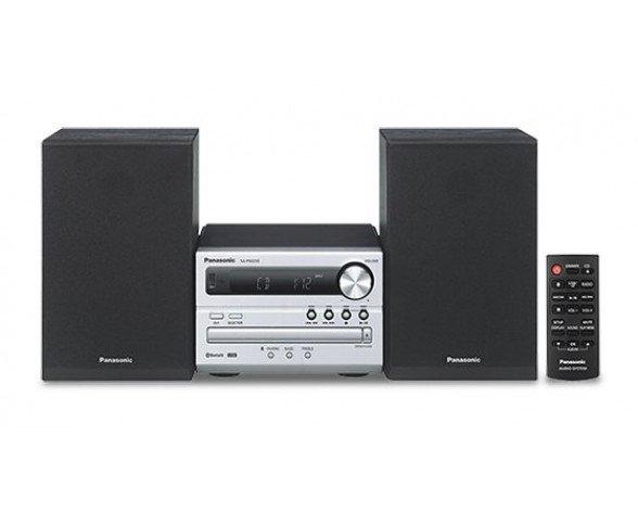Panasonic SC-PM250EC-S sistema de audio para el hogar Microcadena de música para uso doméstico Plata 20 W