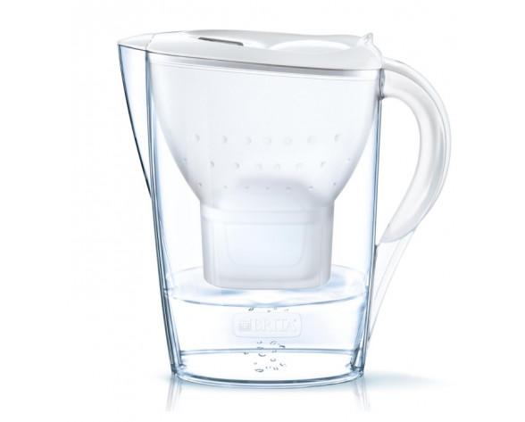 Brita 1028185 Filtro de agua para jarra 2,4 L Transparente, Blanco