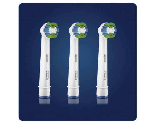 Oral-B 80338442 cepillo de cabello 3 pieza(s) Azul, Verde, Blanco