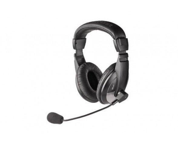 Trust Pulsar Headset Binaurale Diadema Negro auricular con micrófono