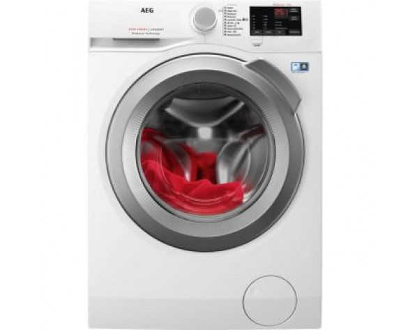 AEG 914913435 lavadora Independiente Carga frontal Blanco 8 kg 1200 RPM A+++
