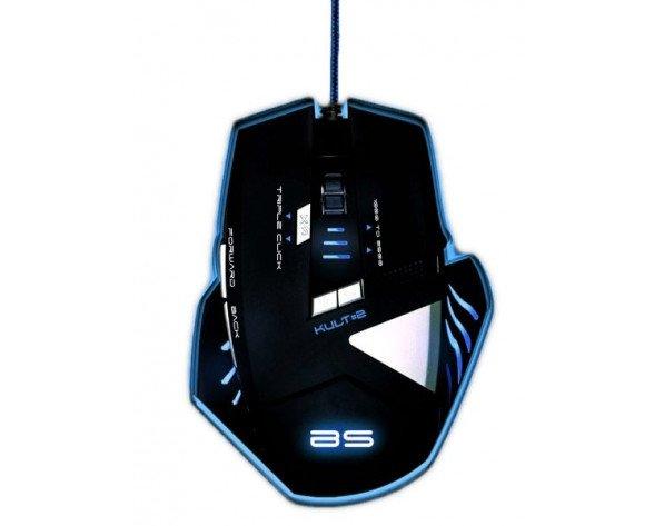The G-Lab KULT#2 USB Óptico 2500DPI Negro